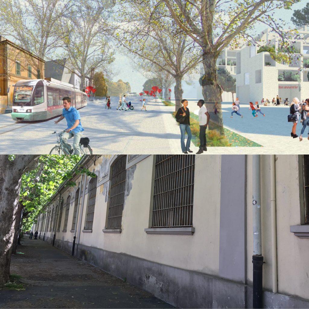 Come dovrebbe cambiare la passeggiata lungo via Guido Reni