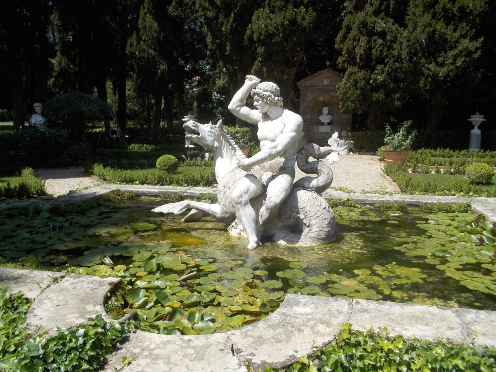 La statua del Nettuno