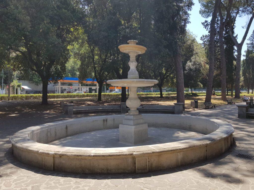 La fontana di viale Tiziano