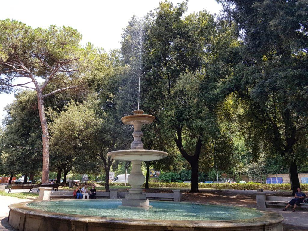 La fontana storica di viale Tiziano è tornata a funzionare