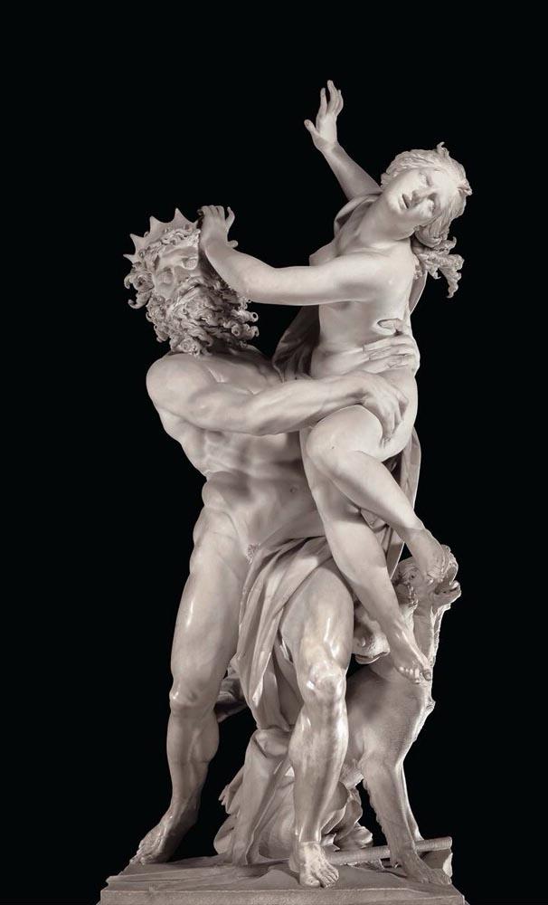 Il ratto di Proserpina del Bernini
