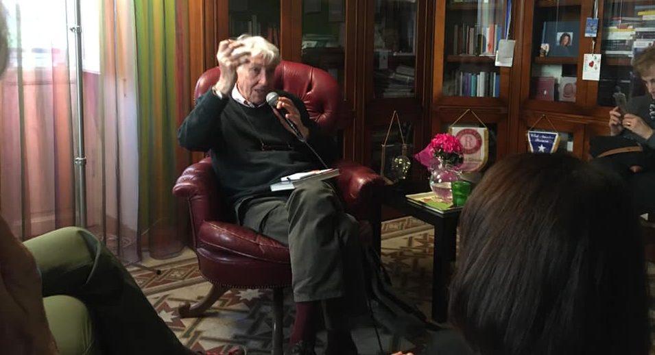 """Corrado Augias al salotto letterario """"La linea d'ombra"""" al Coppedè"""