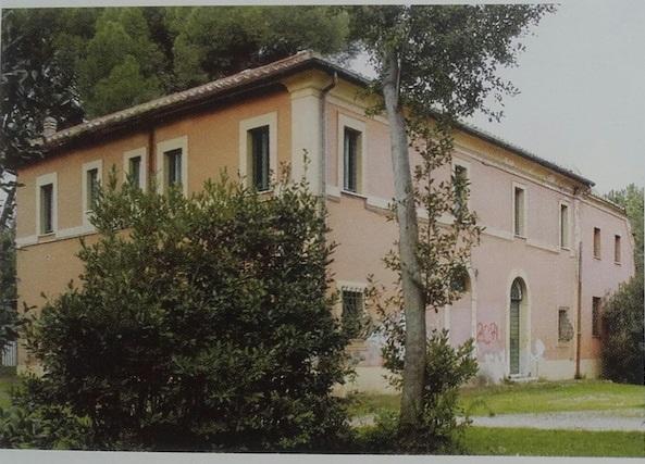 Il casale della Finanziera a Villa Ada