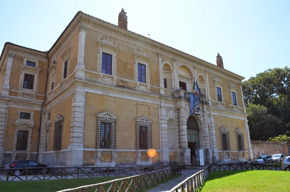 Il Museo Etrusco di Villa Giulia