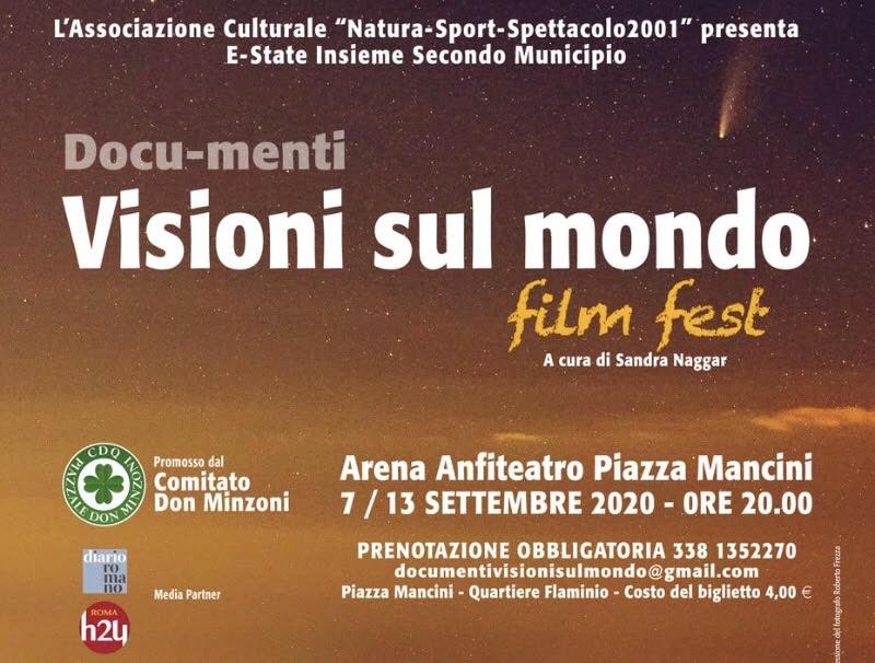 """L'evento """"Docu-menti. Visioni sul mondo film fest"""""""