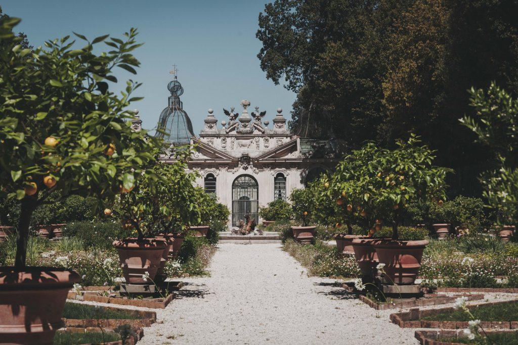 Giardini segreti di Villa Borghese