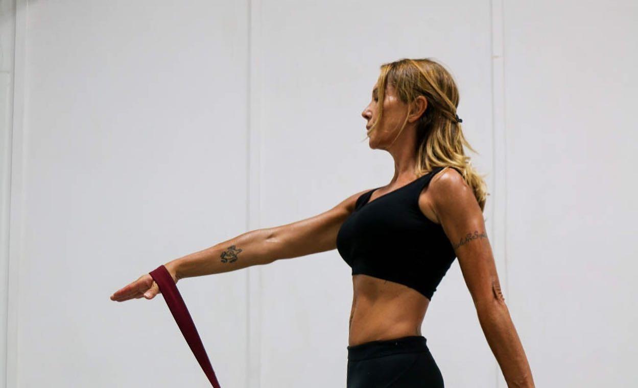 La trainer Beatrice Di Bella, che ha aperto la sede Gyrotonic al Flaminio