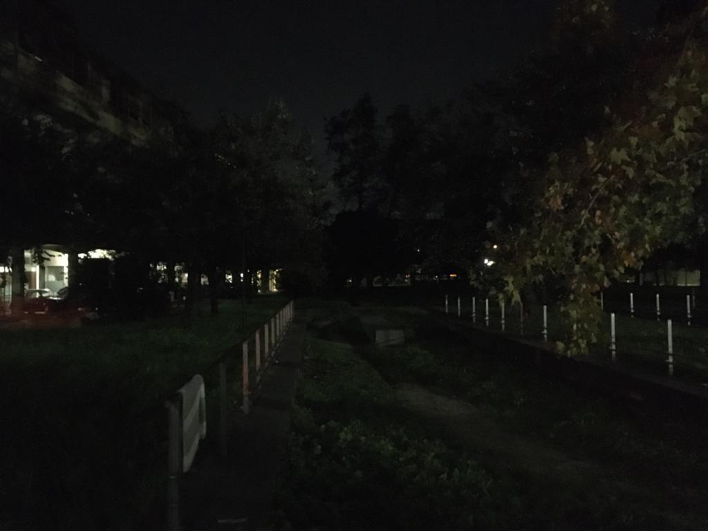 Via Germania al buio