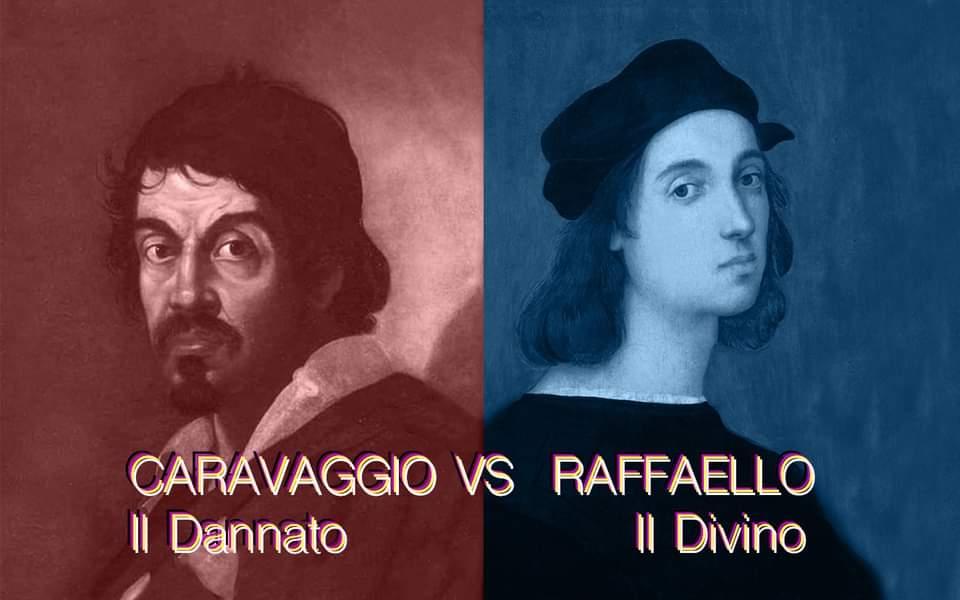 Tour Caravaggio vs Raffaello