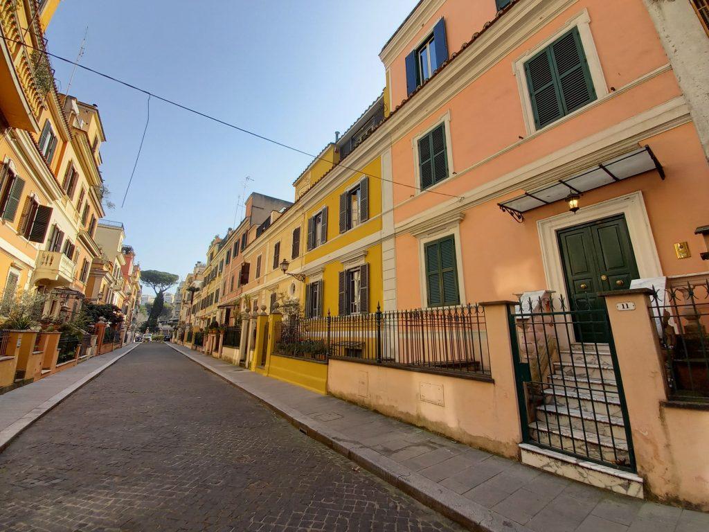 "Via Bernardo Celentano, la ""piccola Londra"" del quartiere Flaminio"