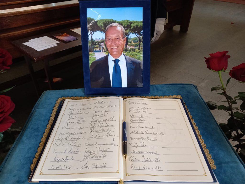 I funerali di Antonio Catricalà
