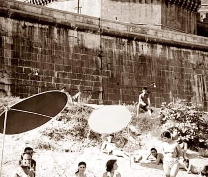 La spiaggia di er Ciriola. Foto tratta dal gruppo Facebook Sei di Prati se...