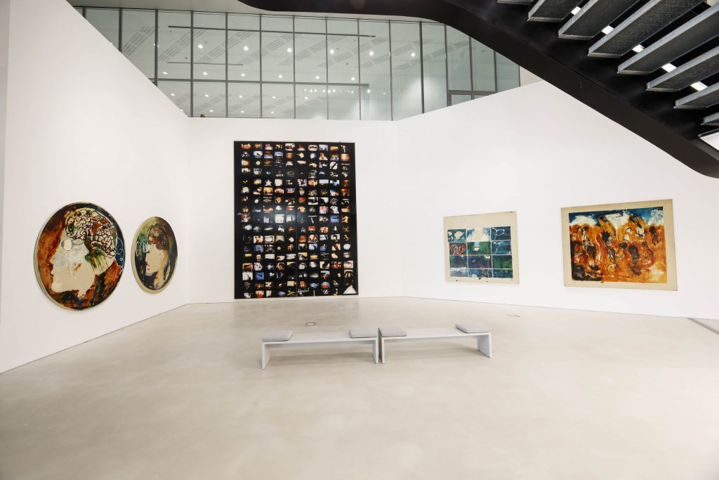 Opening della mostra SENZAMARGINE. PASSAGGI NELL'ARTE ITALIANA A CAVALLO DEL MILLENNIO (Credits Musacchio, Ianniello & Pasqualini)