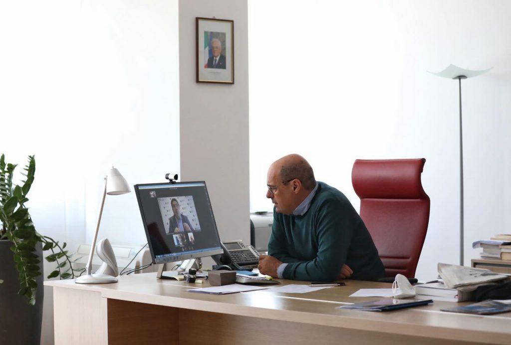 Il presidente della Regione, Nicola Zingaretti