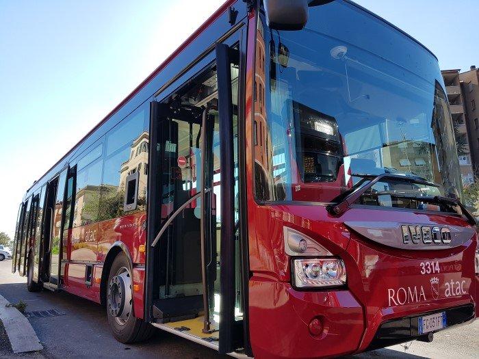 Un autobus Atac