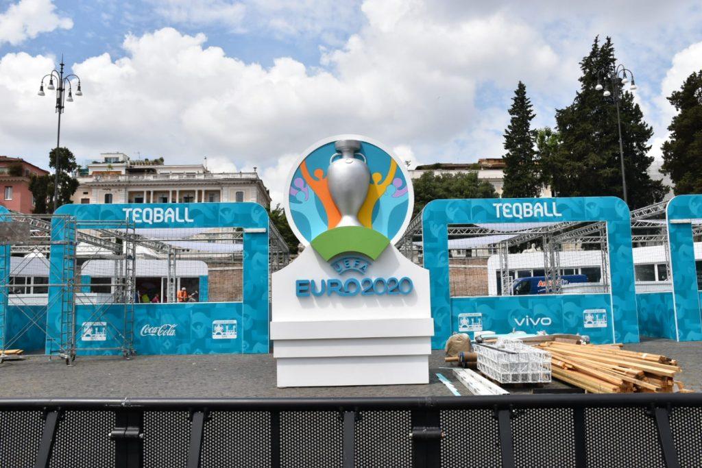 Euro 2020 a piazza del Popolo