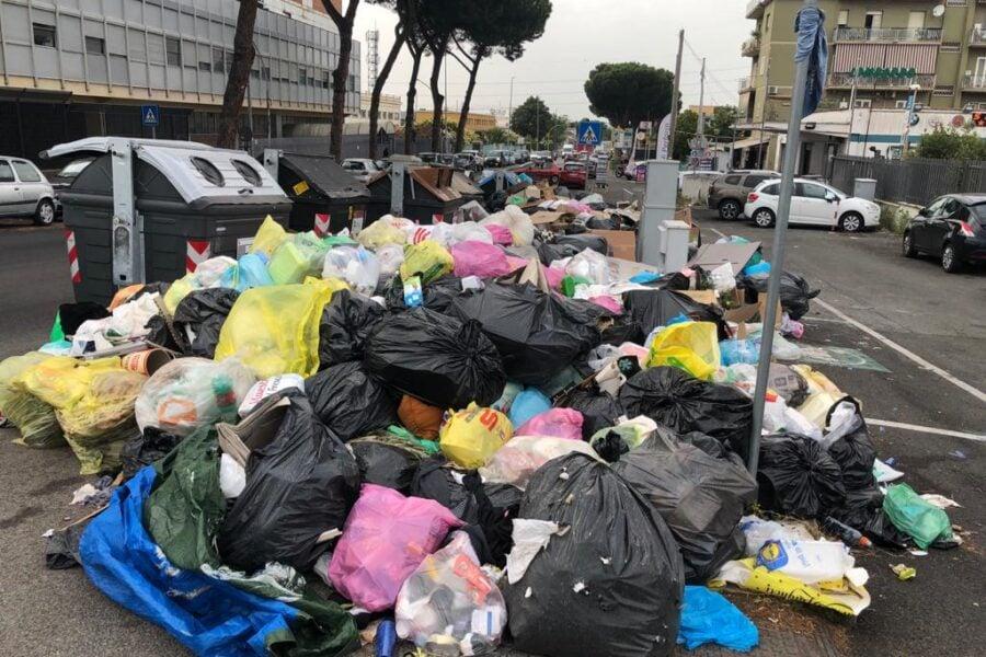Rifiuti a Roma