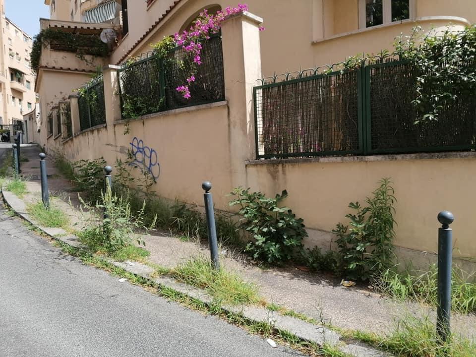 Via Scarpellini. Foto dalla pagina Facebook Parioli e dintorni