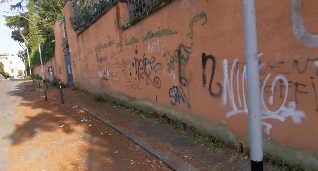 Un fotogramma tratto dal video di Luca Laurenti