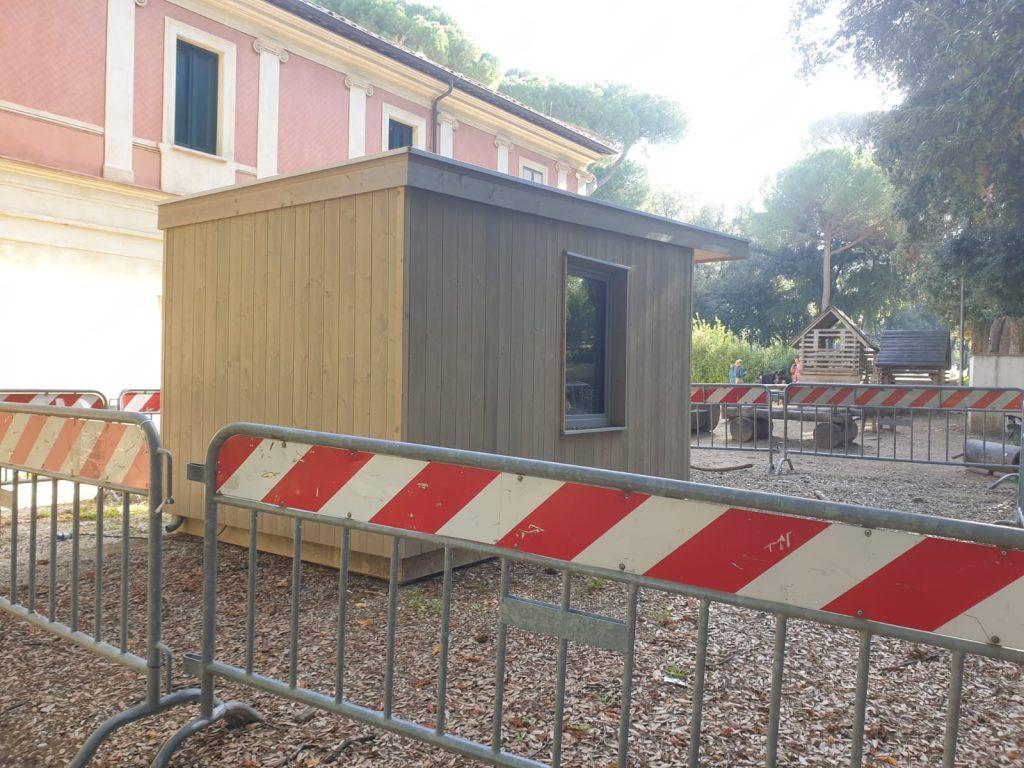 La nursery mai aperta a Villa Borghese