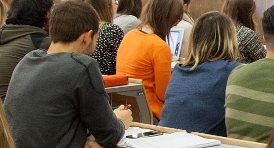 Un esame (foto dal sito della Sapienza)