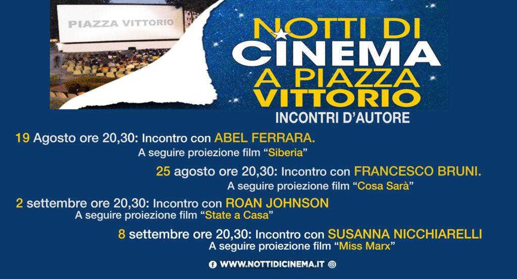 Notti di cinema in piazza Vittorio