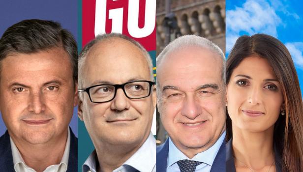 I candidati sindaco