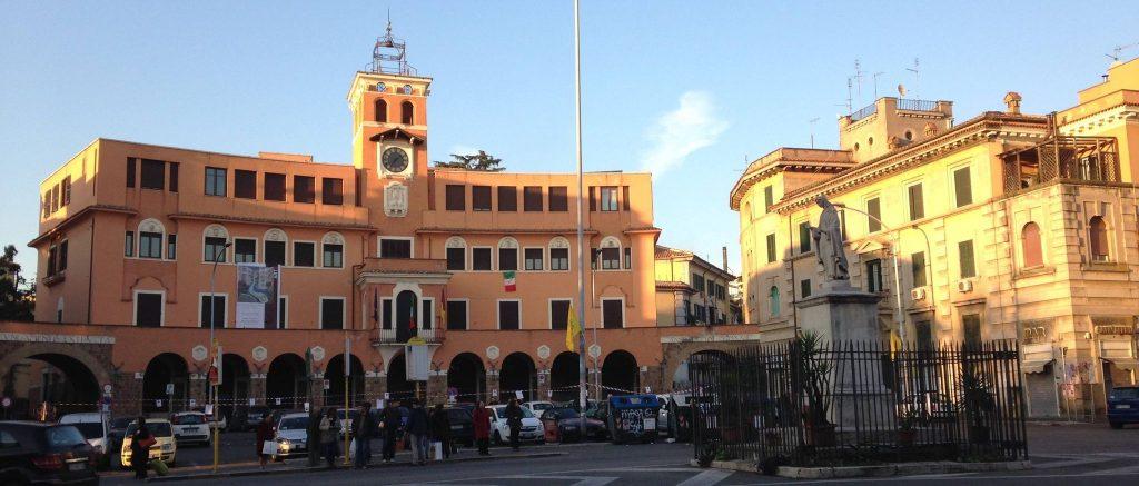 Piazza Sempione, sede del III Municipio