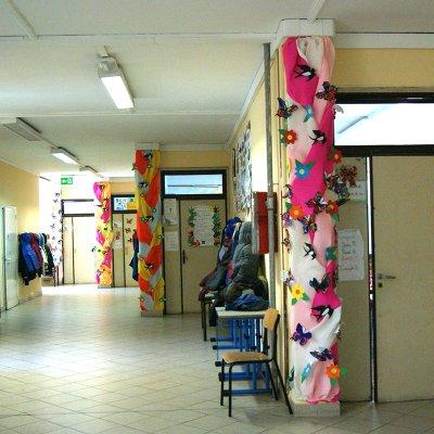 La scuola di via Valle Scrivia