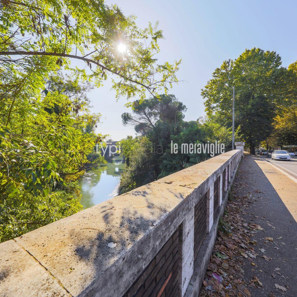 """Ponte Tazio, foto tratta dal libro """"Montesacro. Le 100(+1) Meraviglie"""" (Typimedia Editore)"""
