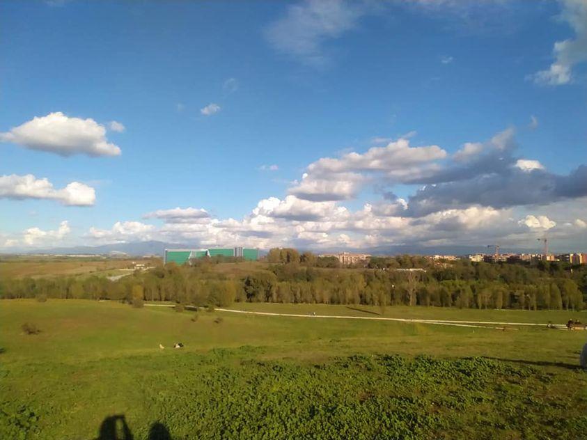 area verde Parco Talenti Montesacro