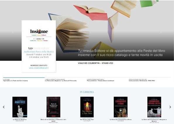 Il nuovo sito di Typimedia Editore