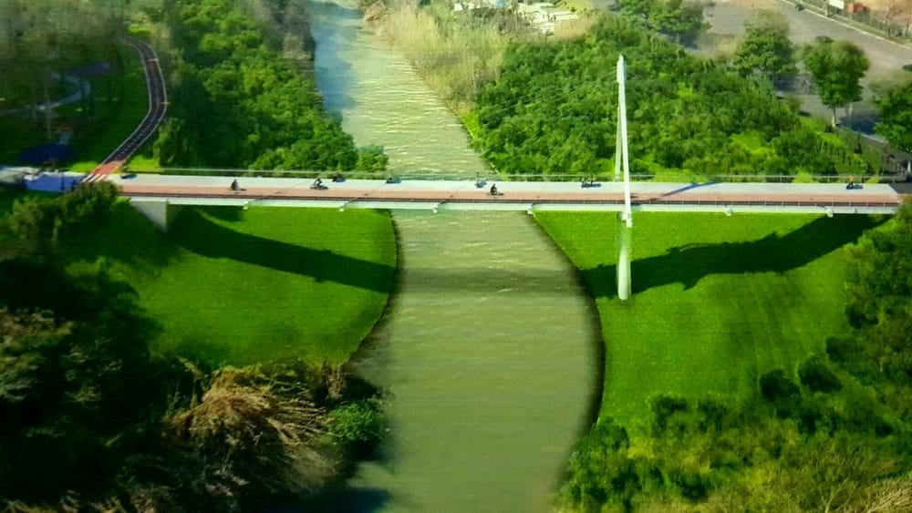 Il ponte ciclopedonale Sacco Pastore - Conca d'Oro