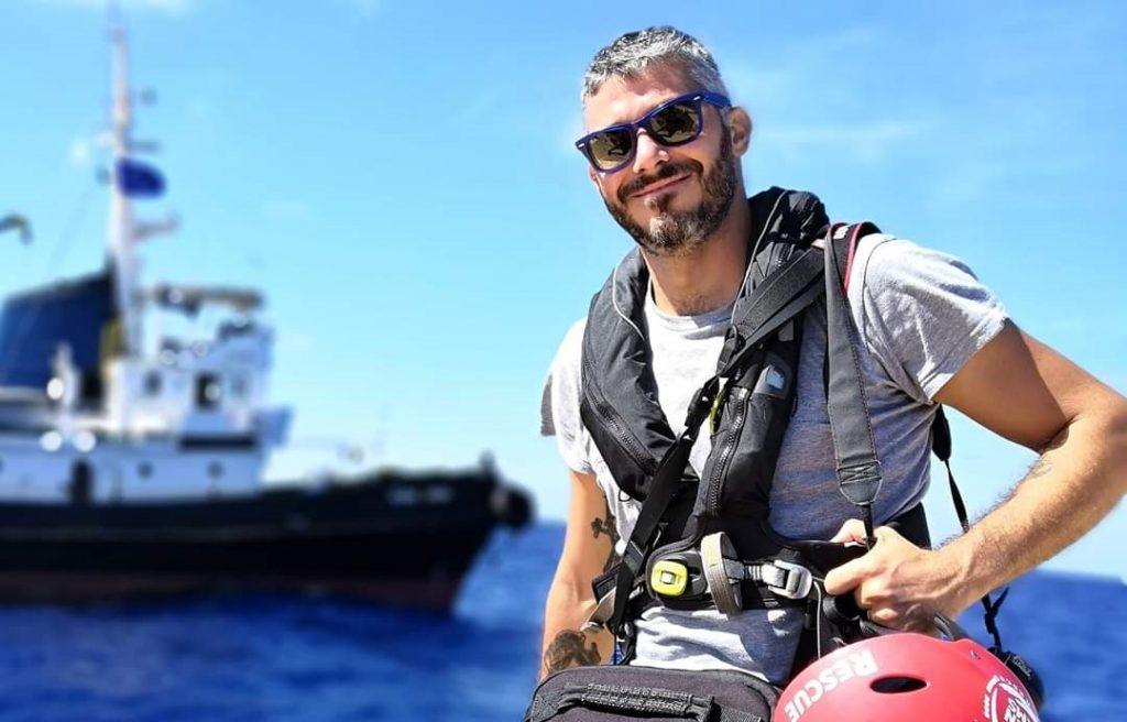 Valerio Nicolosi, giornalista del quartiere