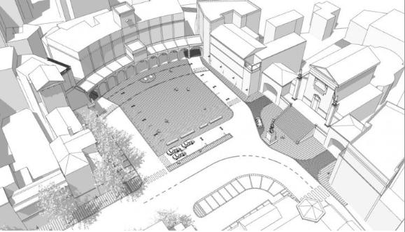 Il progetto di restyling di piazza Sempione
