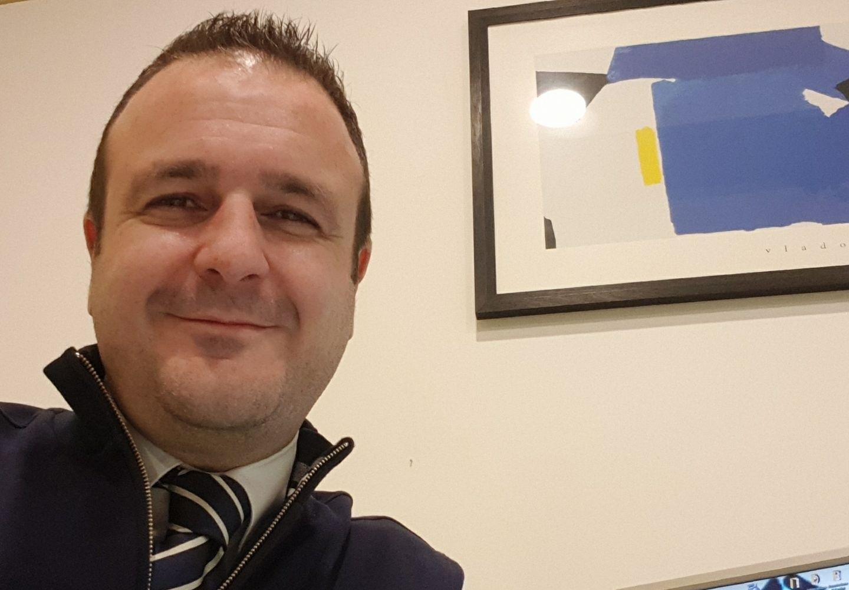 Alessandro Carobbi, vicepresidente dell'Ass. Volontari del Parco delle Sabine