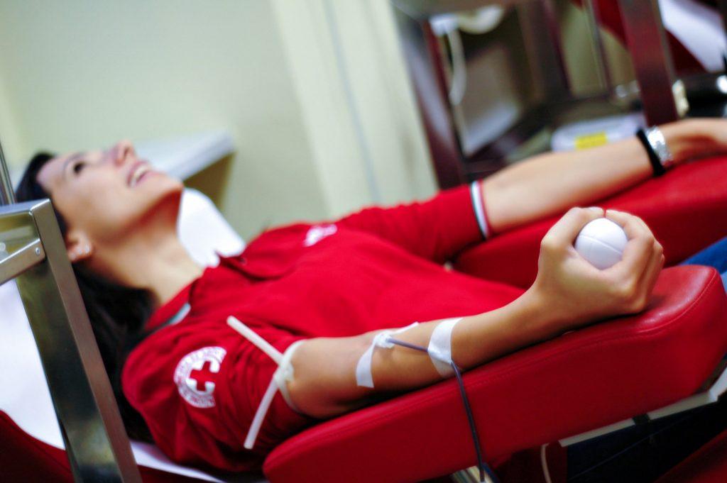 Raccolta e Donazione Sangue. Croce Rossa Italiana - Comitato Area Metropolitana di Roma Capitale.
