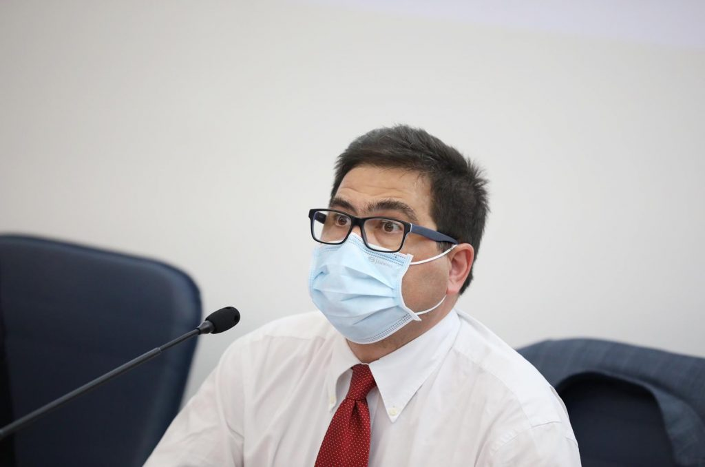 L'assessore alla Sanità della Regione Alessio D'Amato