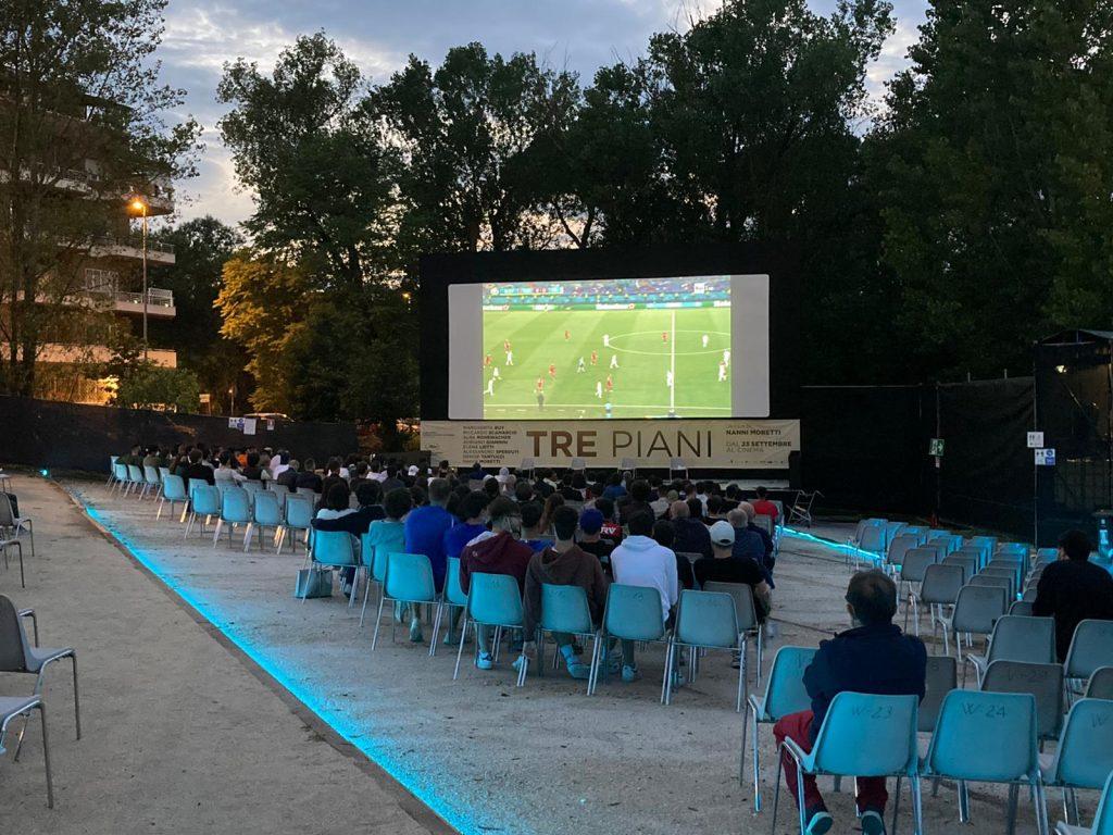 La serata di Italia-Turchia al Cinevillage