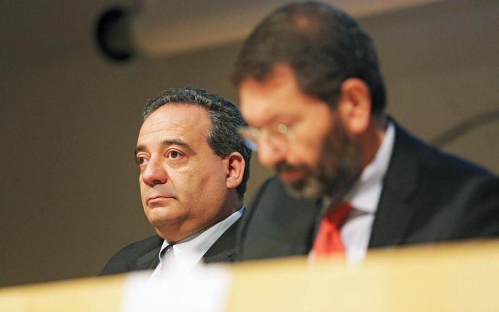 Giovanni Caudo e Ignazio Marino