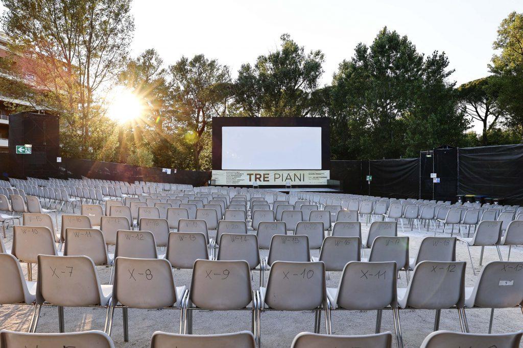 L'arena del CineVillage Parco Talenti