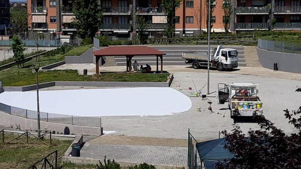 La piazza archeologica di Casale Nei