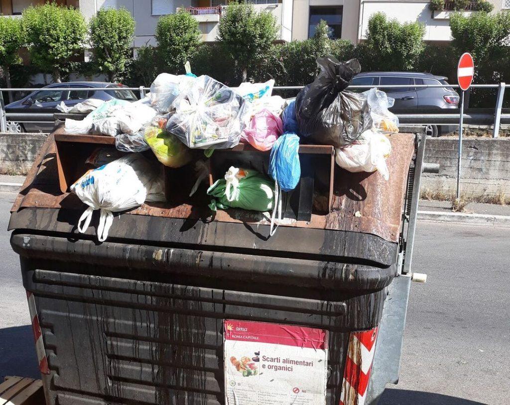 Viale Lina Cavalieri (foto dal gruppo Facebook Comitato di quartiere Serpentara)