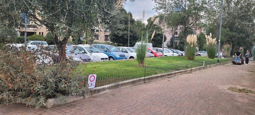 Via Monte Grimano (Foto dal profilo Facebook di Associazione Volontari Parco delle Sabine)