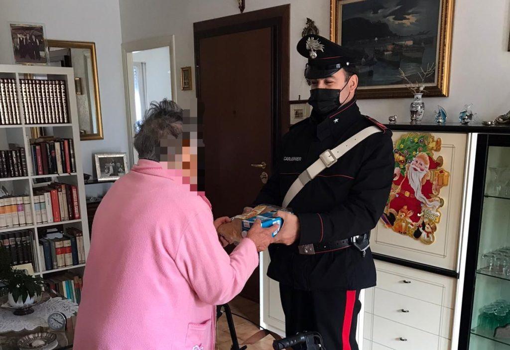 Foto dalla pagina Facebook dei Carabinieri