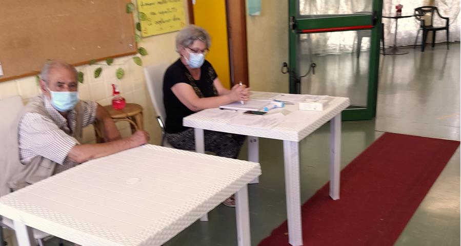 Centro Anziani (Foto dal profilo Facebook di Maria Concetta Romano)