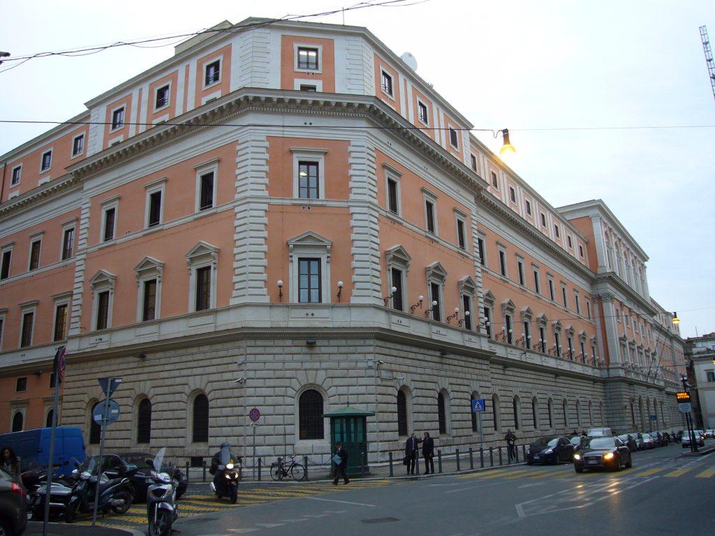 La caserma Castro Pretorio
