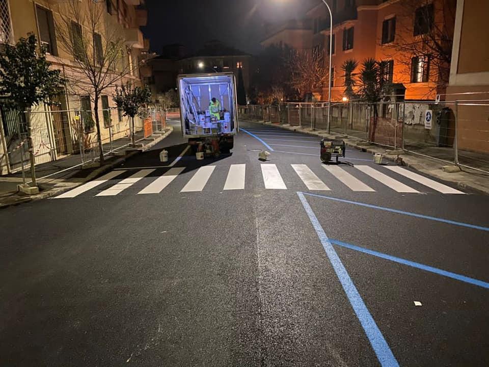 Lavori in via Sant'Ippolito