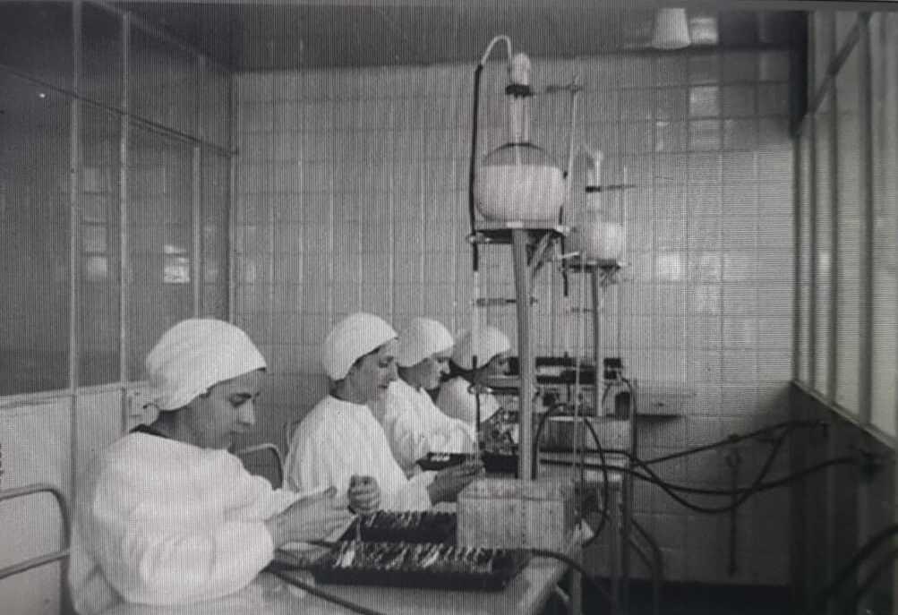 Preparazione dei vaccini all'Istituto superiore di sanità (1940)