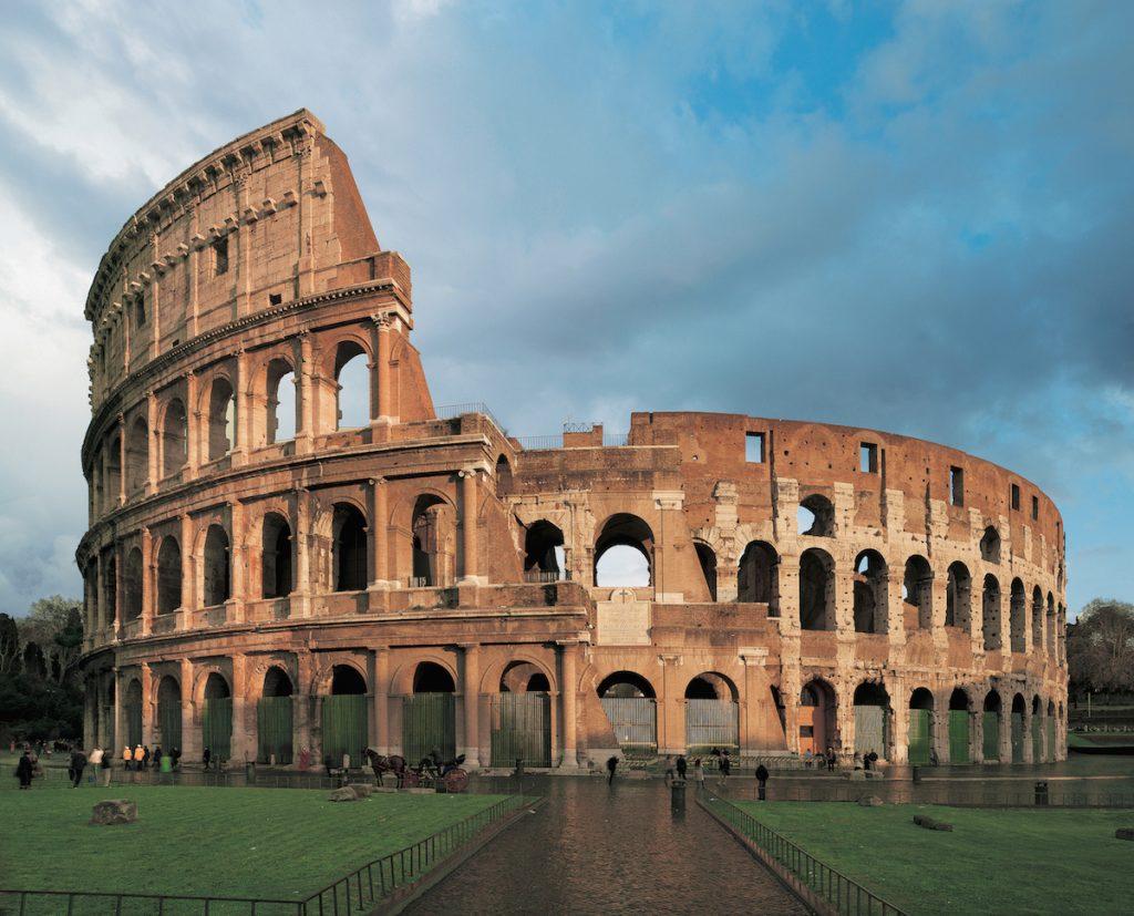 Il Colosseo (foto dal sito del parco archeologico del Colosseo)